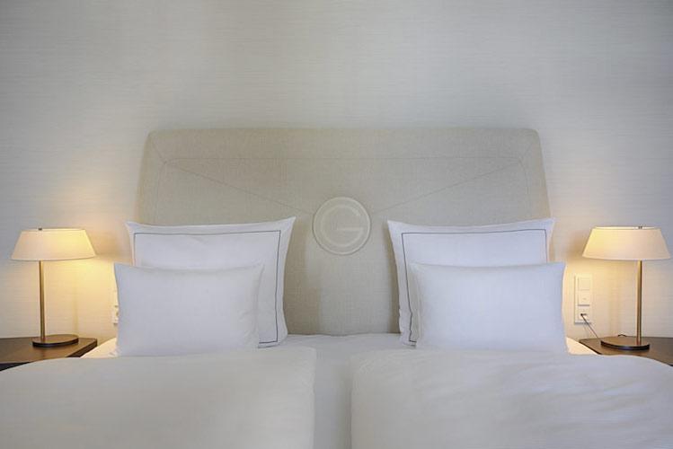 Gewandhaus Dresden Zimmer Superior Bett